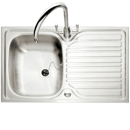 Caple Crane 91 Single Bowl Stainless Steel Inset Kitchen Sink